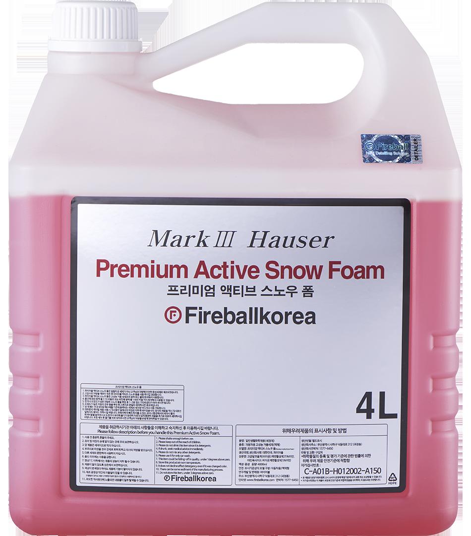 Active Snow Foam – Red4000