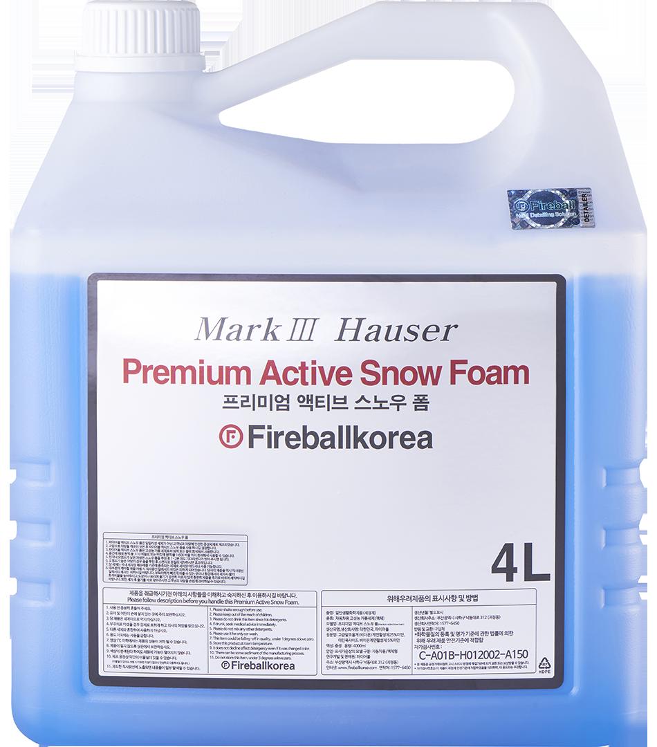 Active Snow Foam – Sky Blue4000