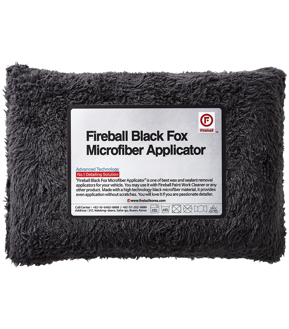 Black Fox Microfiber Applicatoraplikator