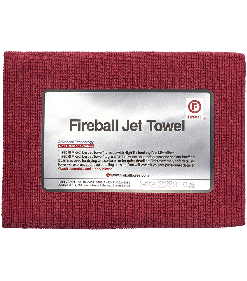 Jet Towel Red60x40