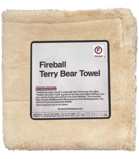 Terry Bear Towel