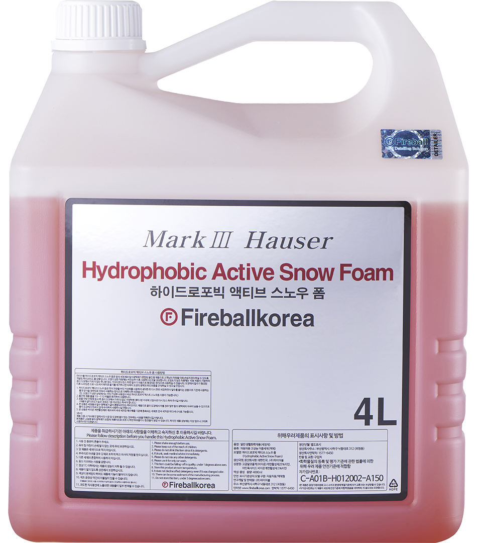 Ultimate Hydrophobic Foam – Red4000