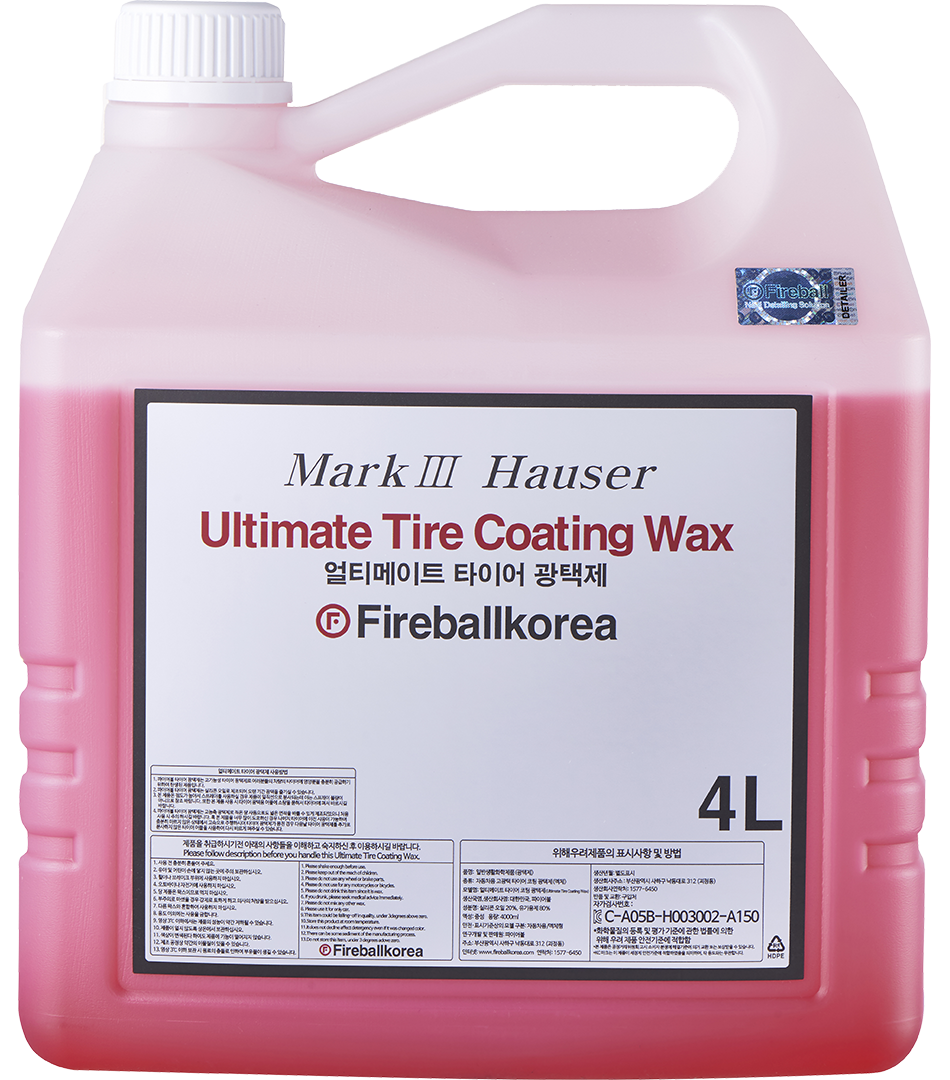 Ultimate Tire Coating Wax – Red4000
